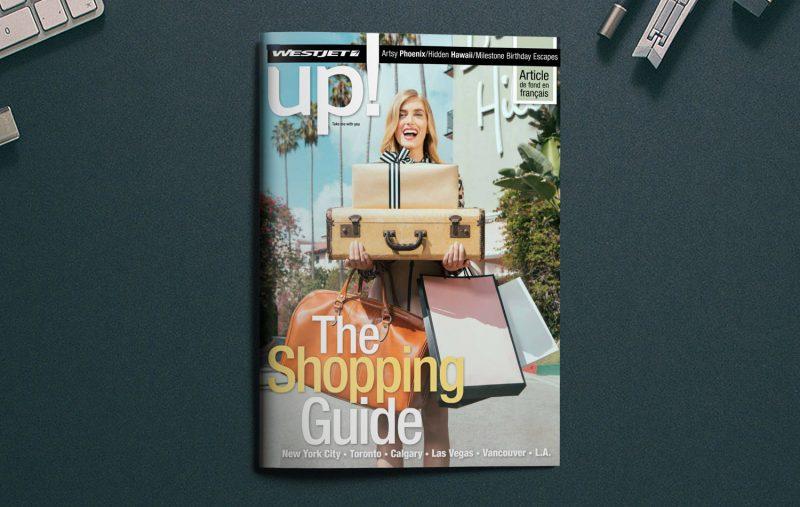 WestJet Magazine Ad